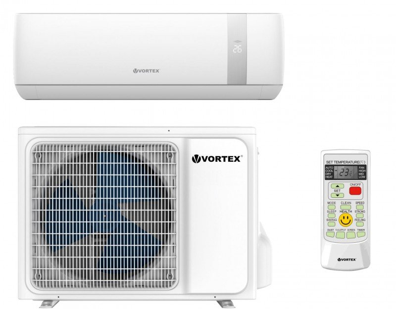 Aparat de Aer conditionat Vortex VAIA1820JCW, 18000 BTU, A++/A+, R32, Wi-Fi, iFeel, Sleep mode, Kit